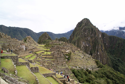 Machu Picchu. Photo by Rick Taylor. Copyright <strong><strong>Borderland Tours</strong></strong>. All rights reserved.