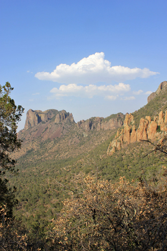 Casa Grande from Pinnacles Trail. Photo by John Yerger. Copyright <strong><strong>Borderland Tours</strong></strong>. All rights reserved.