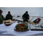 Food on the boat. Photo by Adam Riley. All rights reserved.