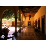 Our Hotel in El Fuerte. Photo by Rick Taylor. Copyright Borderland Tours. All rights reserved.