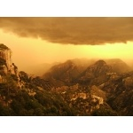 Summer Storm, Barranca del Cobre. Photo by Rick Taylor. Copyright Borderland Tours. All rights reserved.