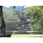 Palace of the Governor, Palenque Archaeological Site. Photo by Rick Taylor. Copyright Borderland Tours. All rights reserved.