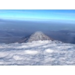 Cotopaxi from the Air. Photo by Dave Semler and Marsha Steffen. All rights reserved.