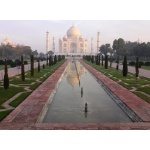 Taj Mahal. Photo by Rick Taylor. Copyright Borderland Tours. All rights reserved.