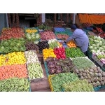 Marketplace in Casablanca. Photo by Joyce Meyer & Mike West. All rights reserved.
