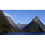 Milford Sound & Mitre Peak. Photo by David Semler & Marsha Steffen. All rights reserved.