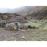 Herder's Hut near Abra Malaga. Photo by Joe and Marcia Pugh. All rights reserved.