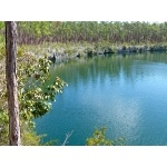 Captain Bill's Blue Hole, Andros, Bahamas. Photo by Rick Taylor. Copyright Borderland Tours. All rights reserved.