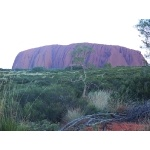 Uluru Sunrise. Photo by Rick Taylor. Copyright Borderland Tours. All rights reserved.